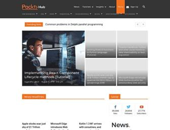 hub.packtpub.com screenshot
