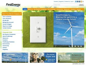 Thumbshot of Firstenergycorp.com