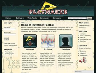 playmaker.com screenshot