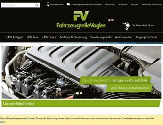 fahrzeugteile-vogler.de screenshot