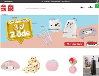 miniso.com.tr screenshot