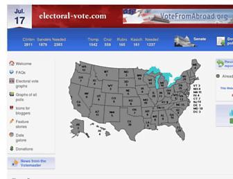 Thumbshot of Electoral-vote.com