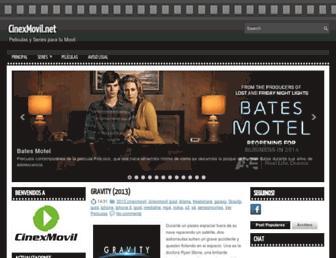 cinexmovil.blogspot.com screenshot