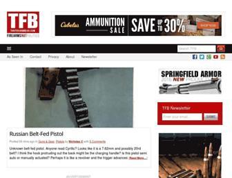 thefirearmblog.com screenshot