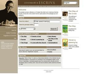 escrivaworks.org screenshot