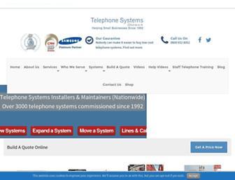 telephonesystemsdirect.co.uk screenshot