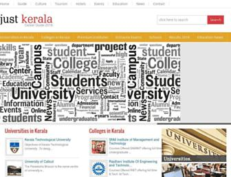 career.justkerala.in screenshot