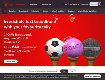 Main page screenshot of upc.ie