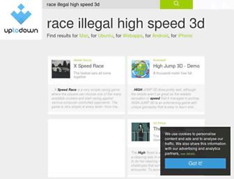 race-illegal-high-speed-3d.en.uptodown.com screenshot