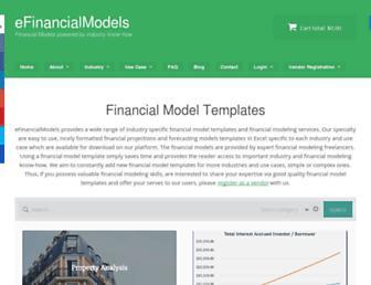 efinancialmodels.com screenshot