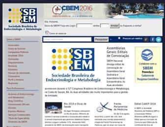 endocrino.org.br screenshot