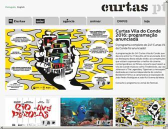 curtas.pt screenshot