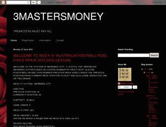 3mastersmoney.blogspot.com screenshot
