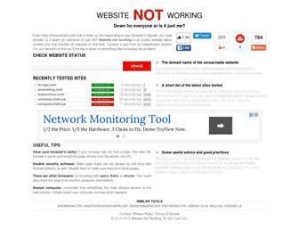 Thumbshot of Websitenotworking.com