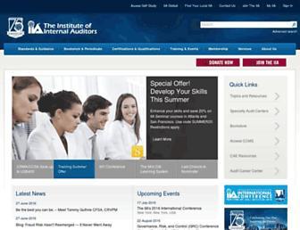 na.theiia.org screenshot