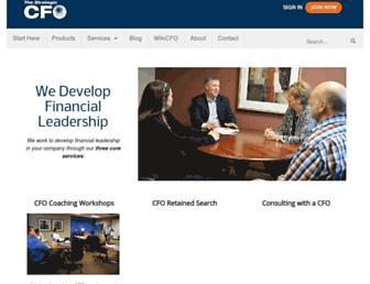 strategiccfo.com screenshot
