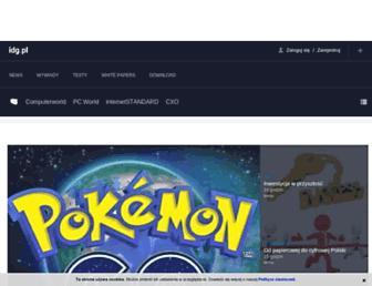 idg.pl screenshot