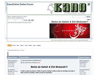 kanoonline.com screenshot