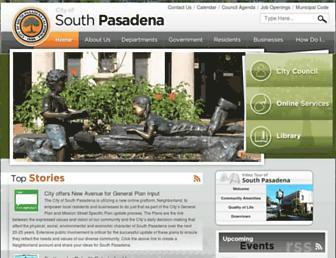 southpasadenaca.gov screenshot