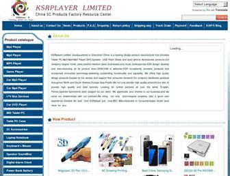 ksrplayer.net screenshot