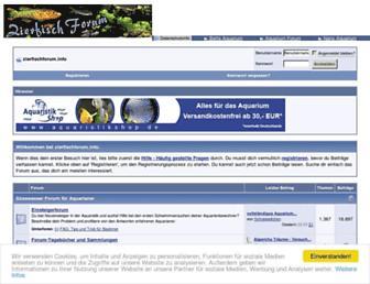 Thumbshot of Zierfischforum.info