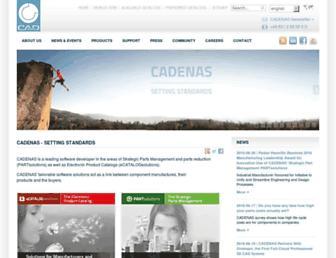Thumbshot of Cadenas.de