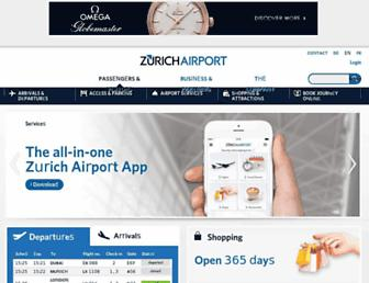 Thumbshot of Zurich-airport.com