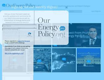 ourenergypolicy.org screenshot