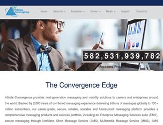 infinite-convergence.com screenshot