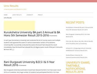 bloguniv.com screenshot