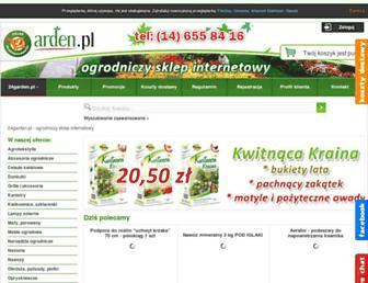 Main page screenshot of 24garden.pl