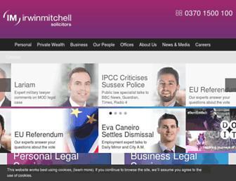 Thumbshot of Irwinmitchell.com