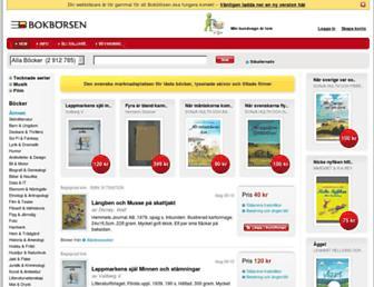 bokborsen.se screenshot