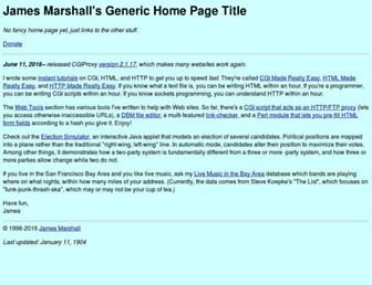 Thumbshot of Jmarshall.com