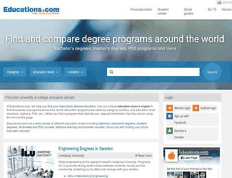 educations.com screenshot