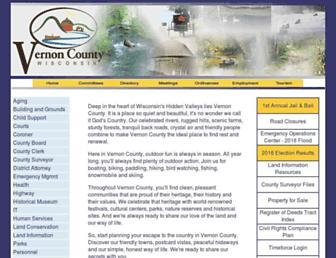 vernoncounty.org screenshot