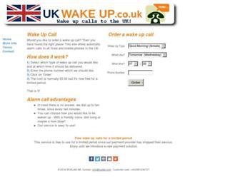 ukwakeup.co.uk screenshot