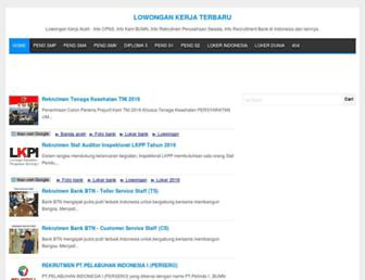 lokerbandaaceh.com screenshot
