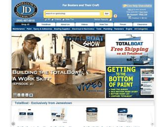 Thumbshot of Jamestowndistributors.com