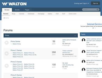 waltonforum.com screenshot
