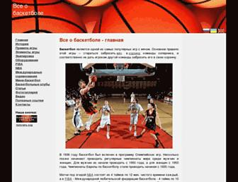 basketbolist.org.ua screenshot