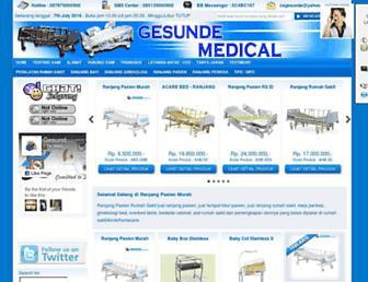 jualranjangpasien.com screenshot