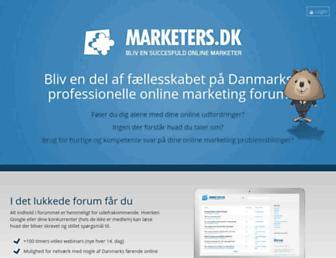 Thumbshot of Marketers.dk