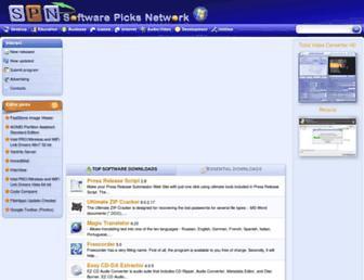 softpicks.co.uk screenshot