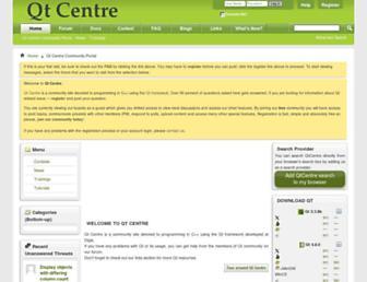 qtcentre.org screenshot