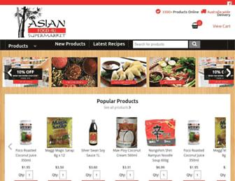 buyasianfood.com.au screenshot