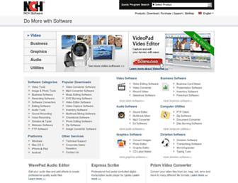 help.nchsoftware.com screenshot