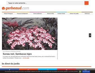 gerbeaud.com screenshot