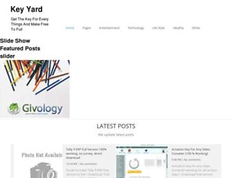 keyyard.blogspot.com screenshot