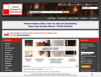 polskaksiegarniainternetowa.eu screenshot